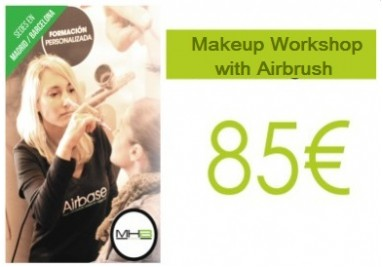 Airbrush makeup workshop, method MHB Airbase